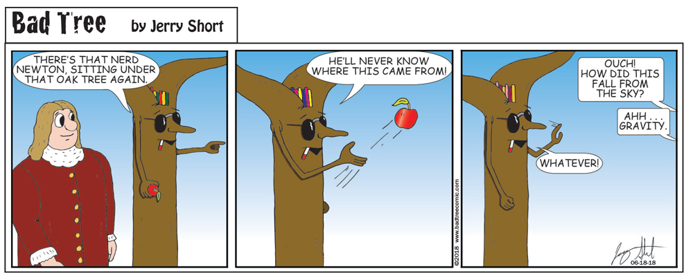 Bad Tree Comic - What Goes Up