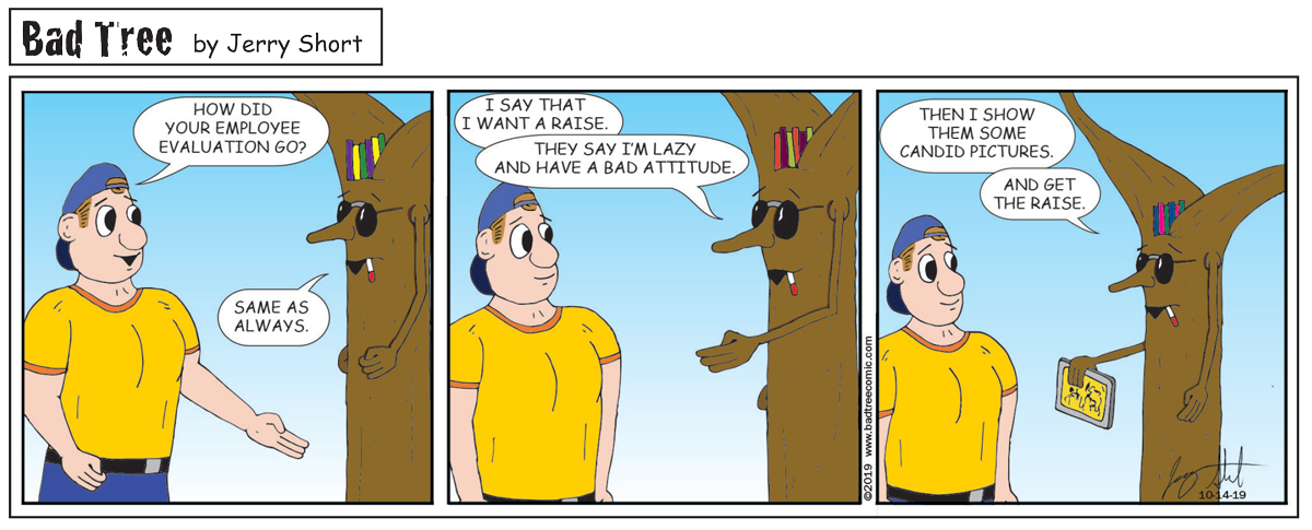 Bad Tree Comic - Go Work Reviews