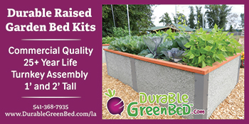Banner - Durable GreenBed by ShelterWorks Ltd