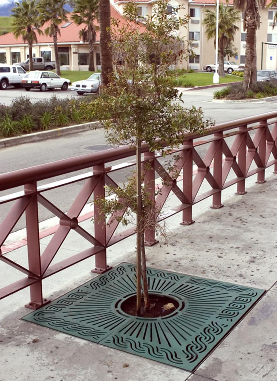 Ironsmith Inc Marina Tree Grate Landscape Architect