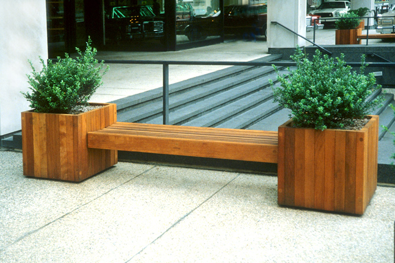 Sitecraft Suspended Planter Bench Single Sfb Landscape Architect